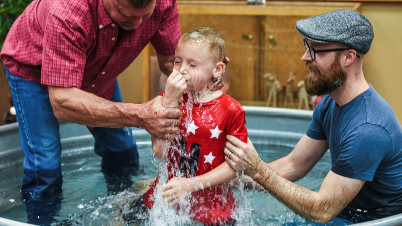 Baptism. Who We Are. Our Vision. Boise