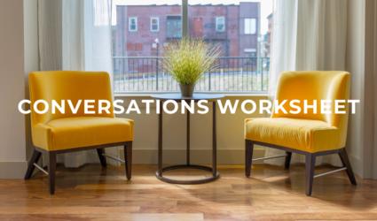Conversations Worksheet