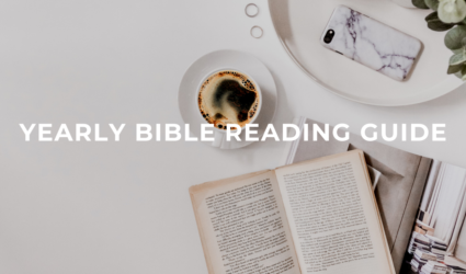 Yearly Bible Reading Guide